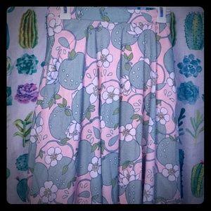 Modcloth Green apple skirt M